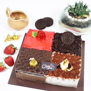 Cake four taste