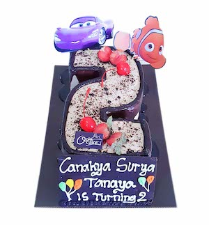 Number 2 Cake, Number Cake