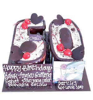 Number 50 Cake